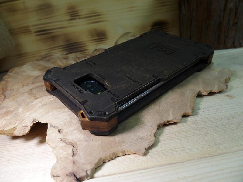 507SH 木のケース