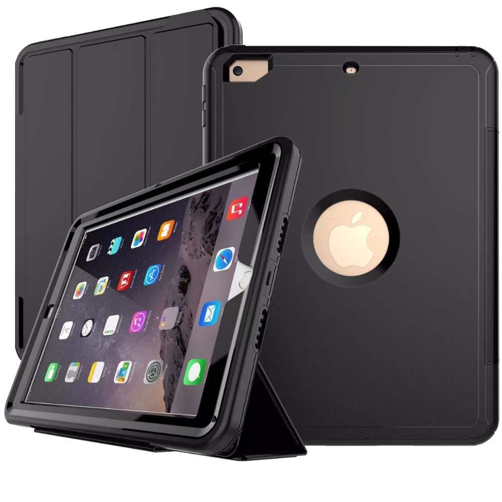 iPad 2017 耐衝撃 手帳型 ケース