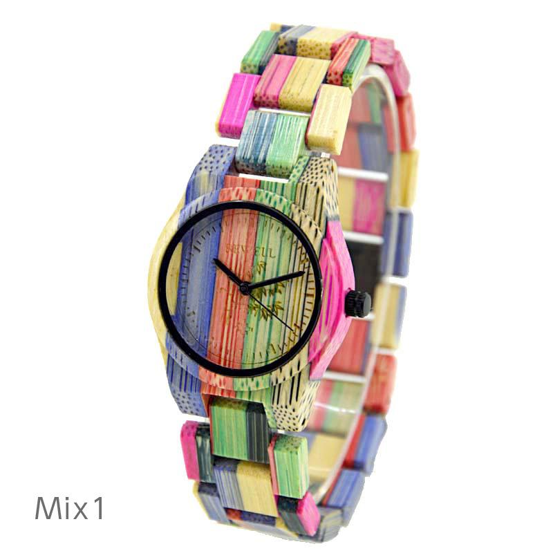 木製腕時計