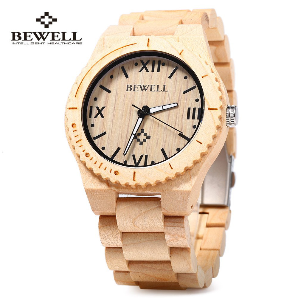 木製腕時計 カラフル