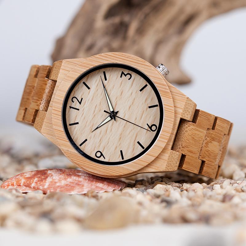 バンブー腕時計