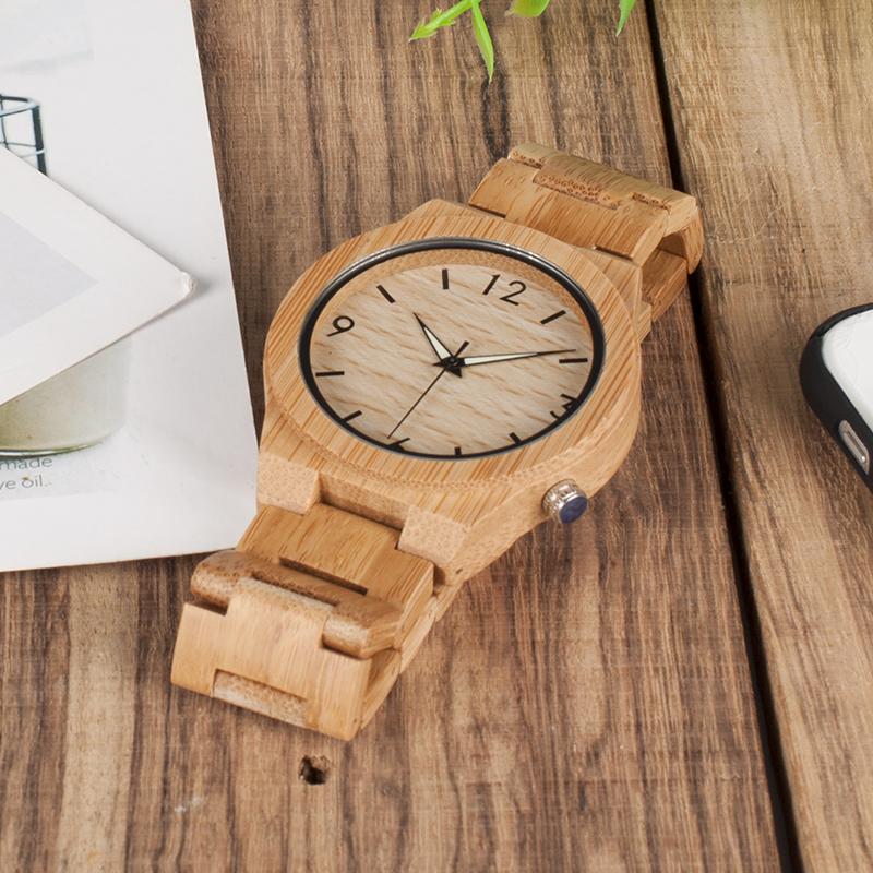 ウッド腕時計