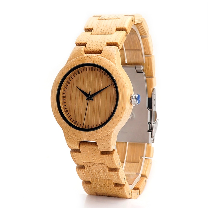 木製腕時計 ナチュラル