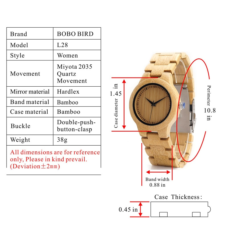 BOBOBIRD 腕時計