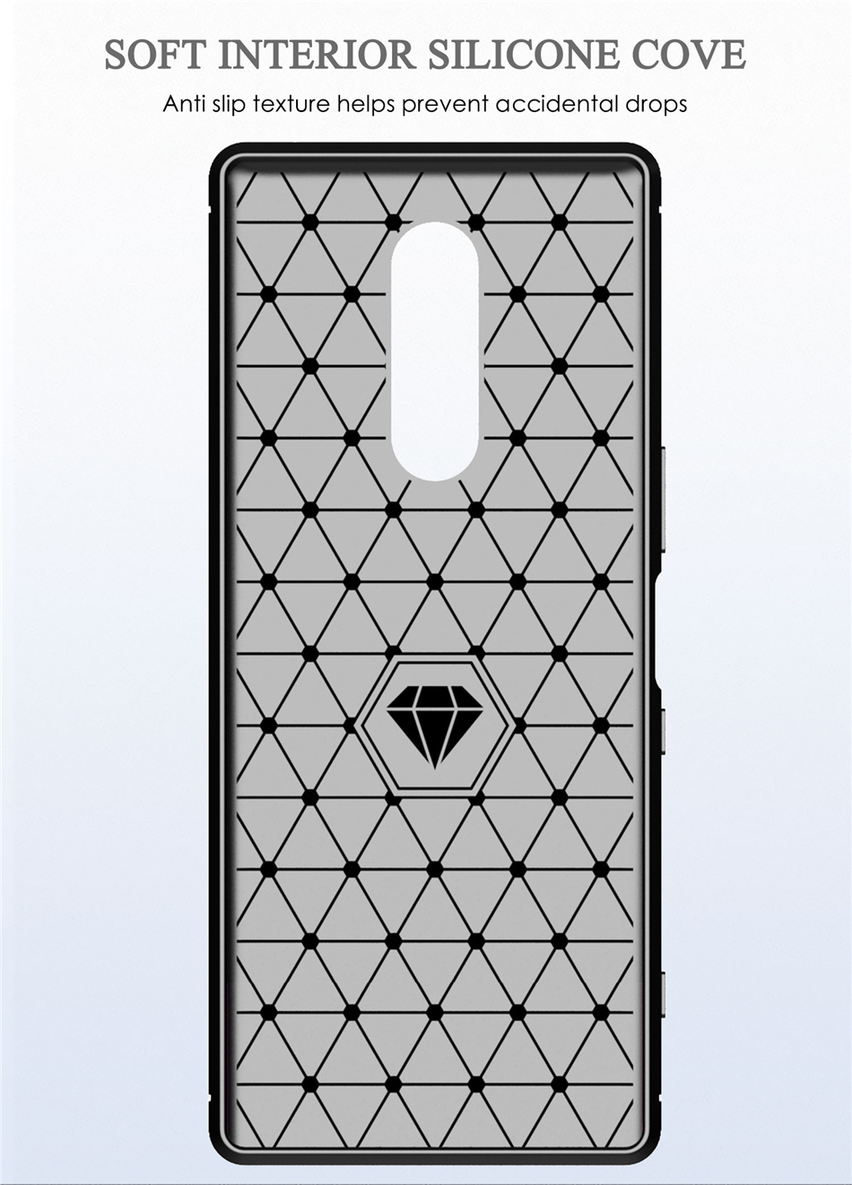 Xperia 1 シリコンケース