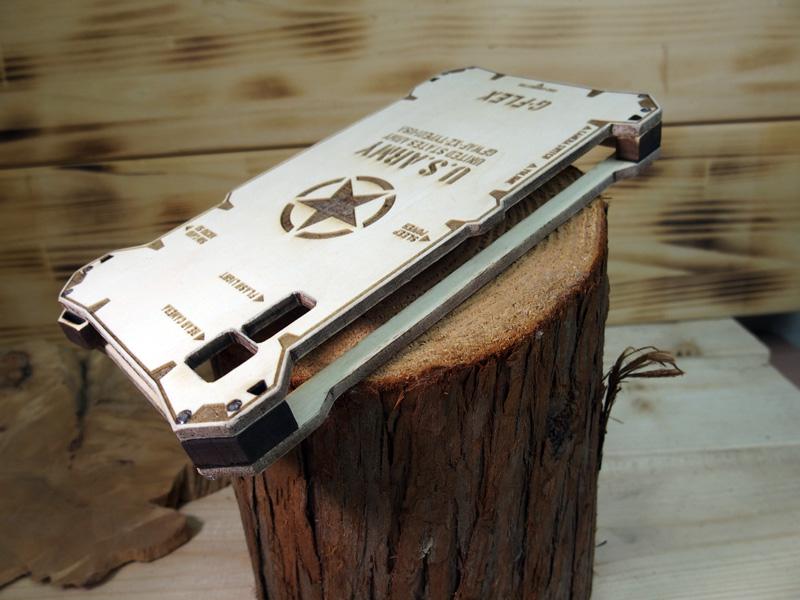 Xperia XZs 木のケース