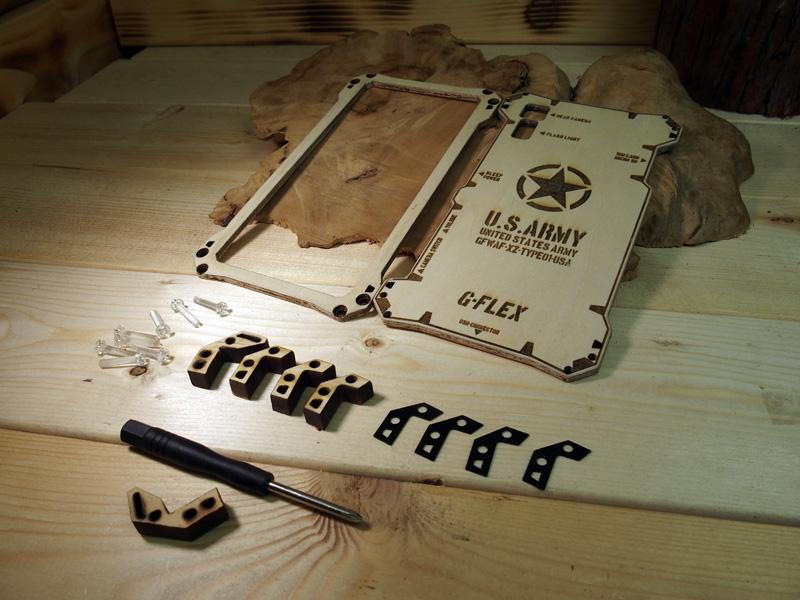 Xperia XZs 木製ケース