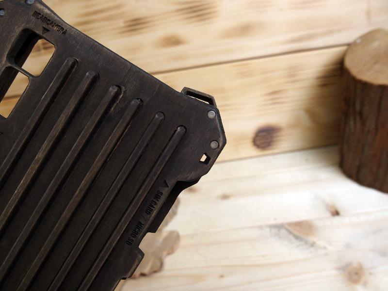 エクスぺリアXZ 木製ケース
