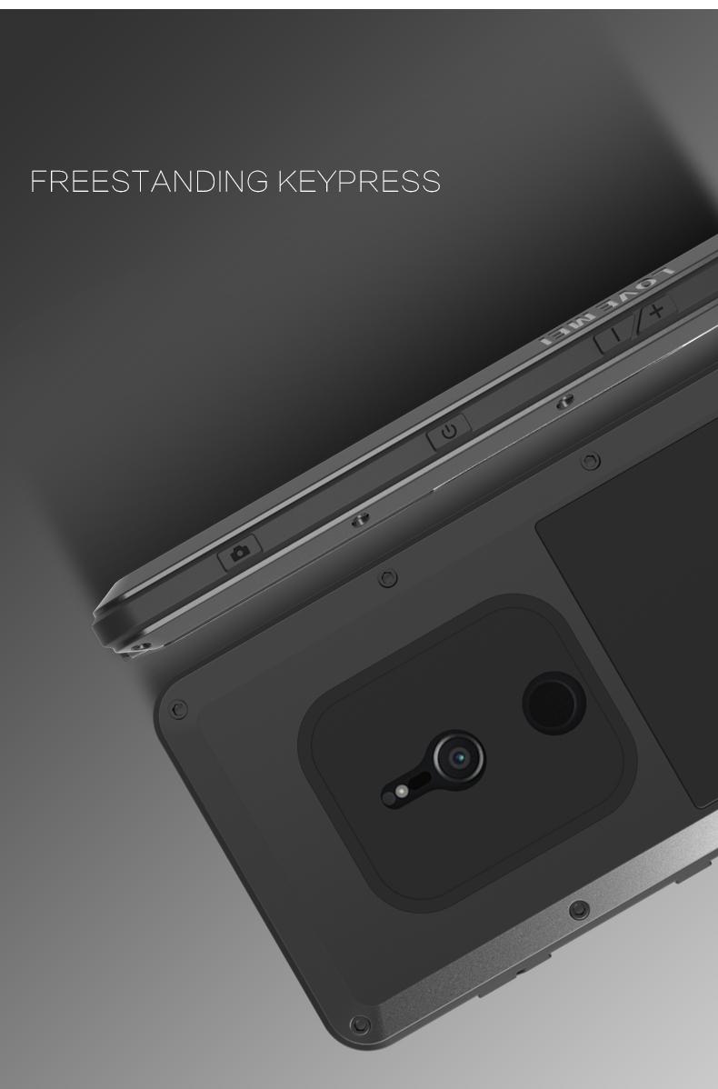 Xperia XZ2 compact タフケース メタル