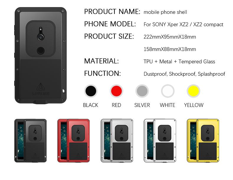 Xperia XZ2 compact LOVE MEI