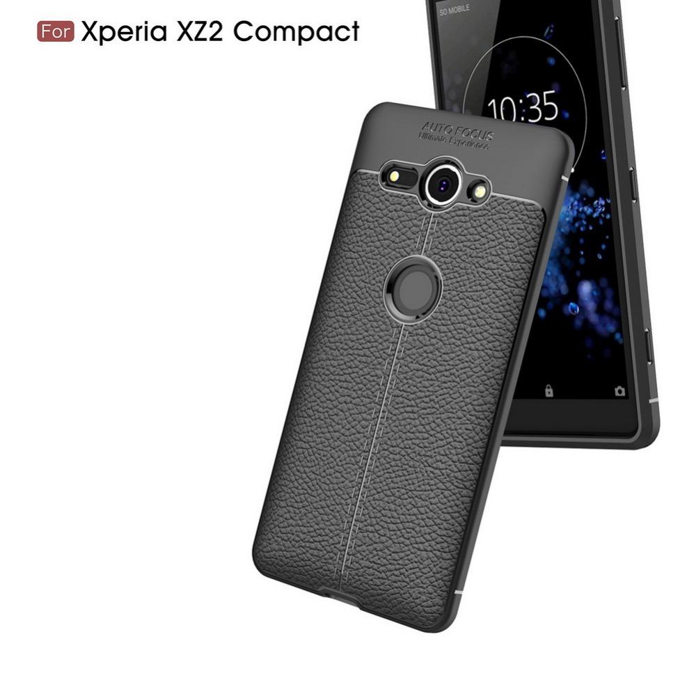 Xperia XZ2 Compact シリコンケース
