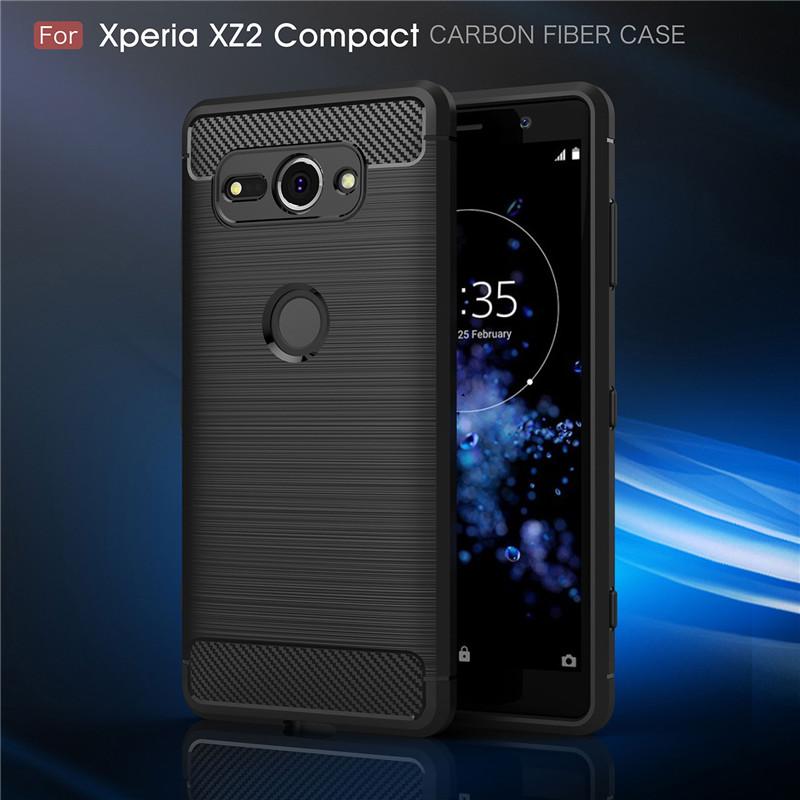 Xperia XZ2 Compact TPUケース