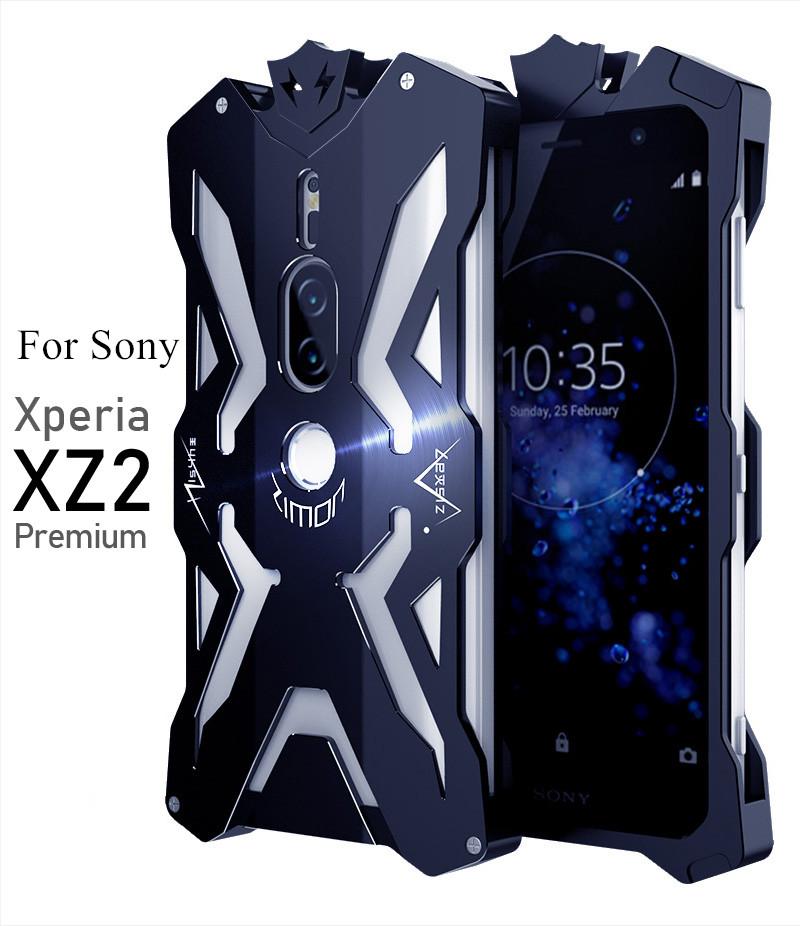 Xperia XZ2 Premium メタルフルカバー