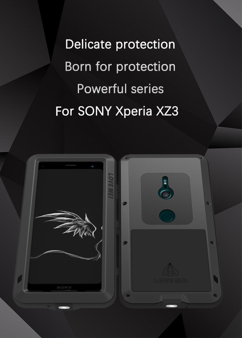 Xperia XZ3 タフケース