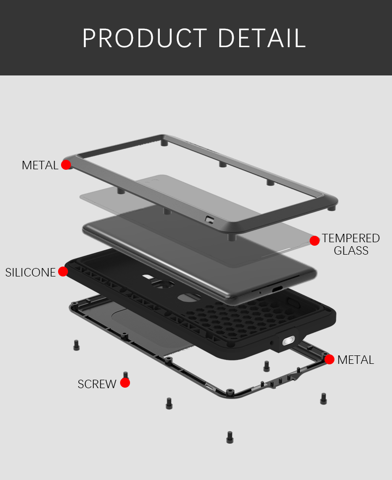Xperia XZ3 タフケース メタル