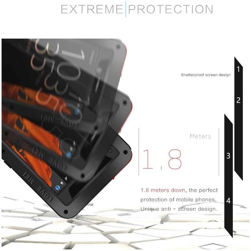 Xperia XZ Premium 最強ケース