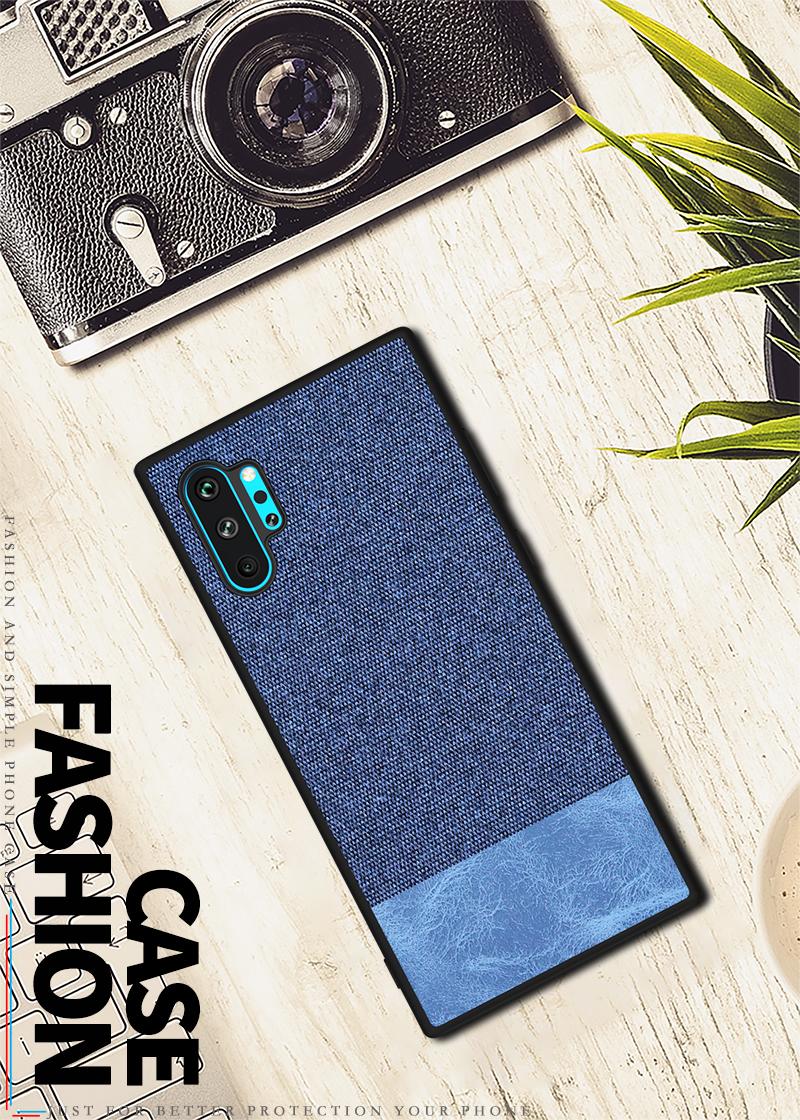 Galaxy Note10+ ジーンズ生地ケース