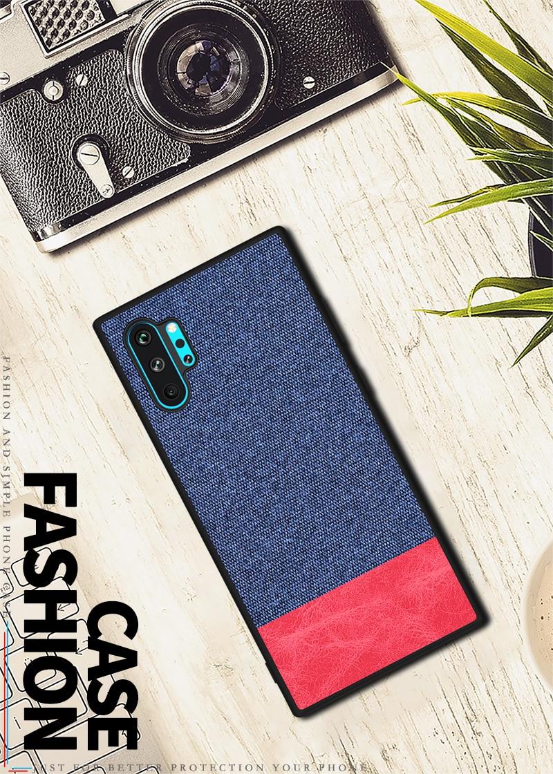 Galaxy Note10+ キャンバス ケース