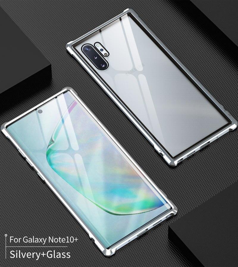 galaxy note10+ 耐衝撃 アルミバンパー