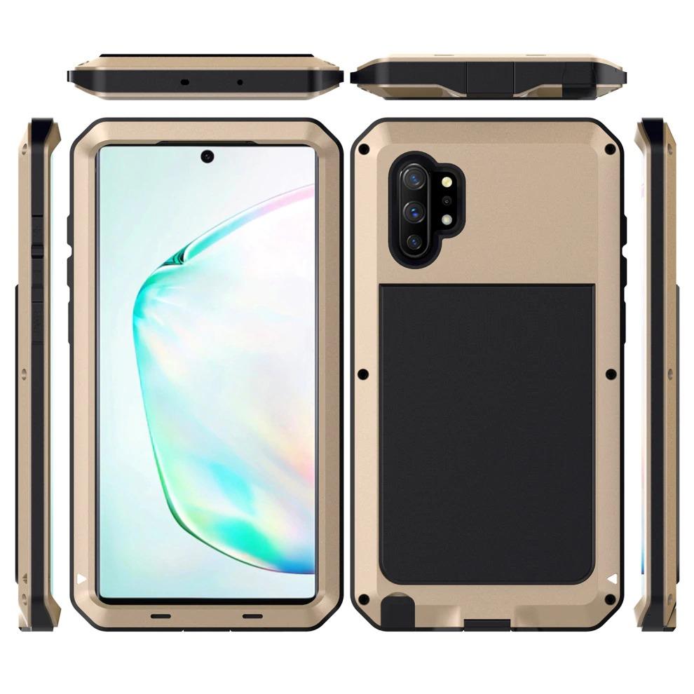 galaxy NOTE10+ 強化ガラス フルカバー