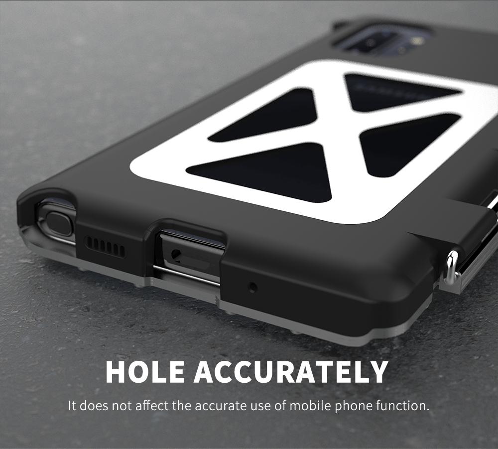 Galaxy Note10 耐衝撃ケース ステンレス