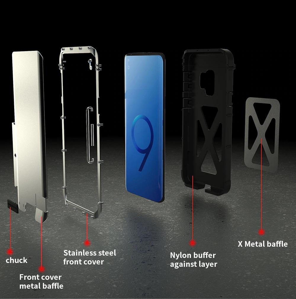 Galaxy Note10 タフケース メタル