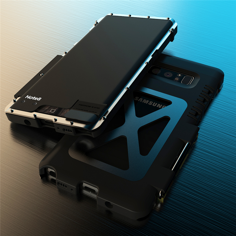 Galaxy Note8 耐衝撃ケース メタルケース