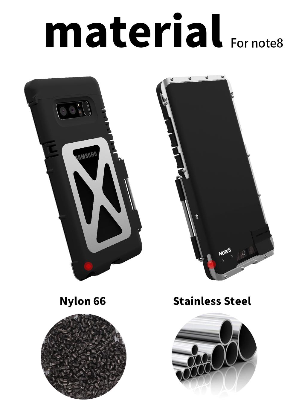 Galaxy Note8 アウトドアケース
