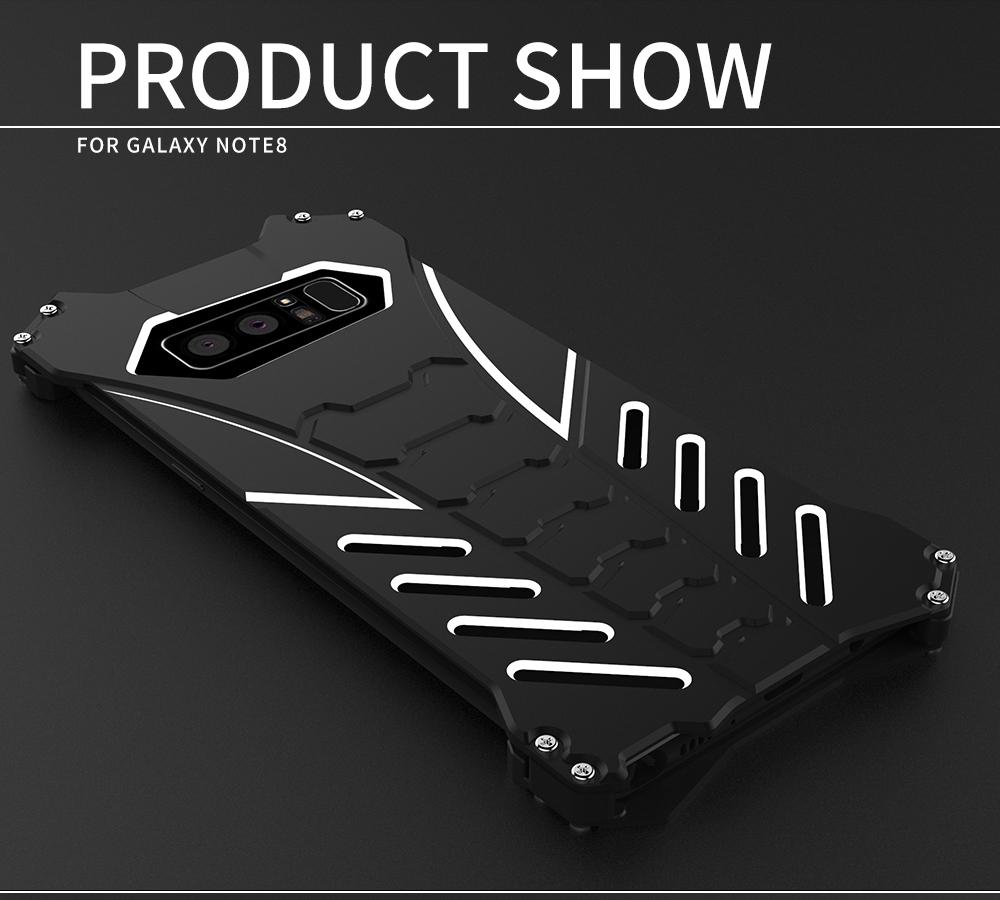 Galaxy Note8 ミリタリー メタル