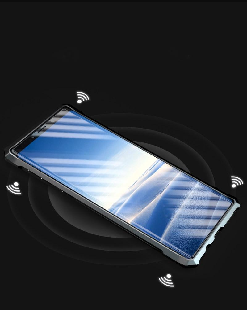 Galaxy note9 メタルケース