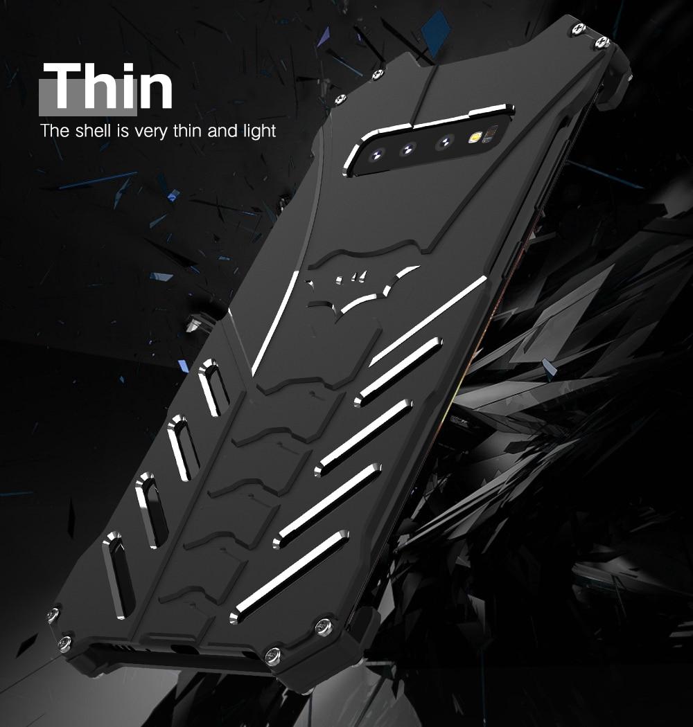Galaxy Note10 アルミバンパー 耐衝撃