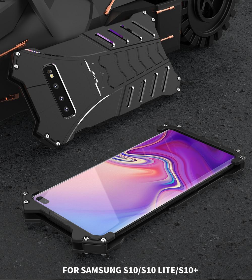 Galaxy Note10 ミリタリー メタル