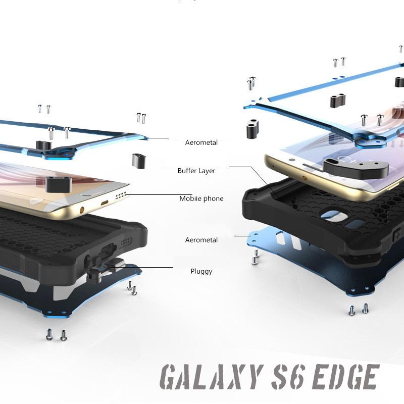 galaxys6 edge 耐衝撃アルミケース