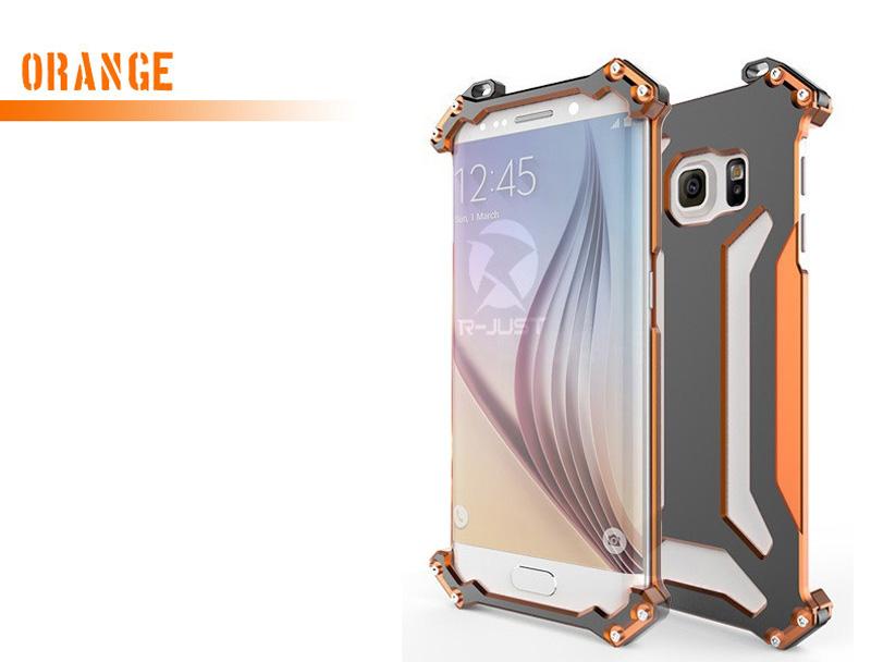 Galaxy S6 Edge アルミバンパー