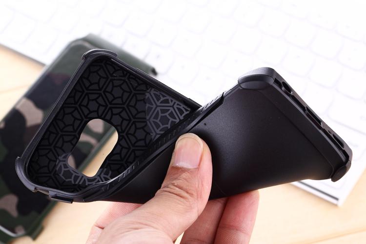 Galaxy S6 edge ミリタリー 迷彩