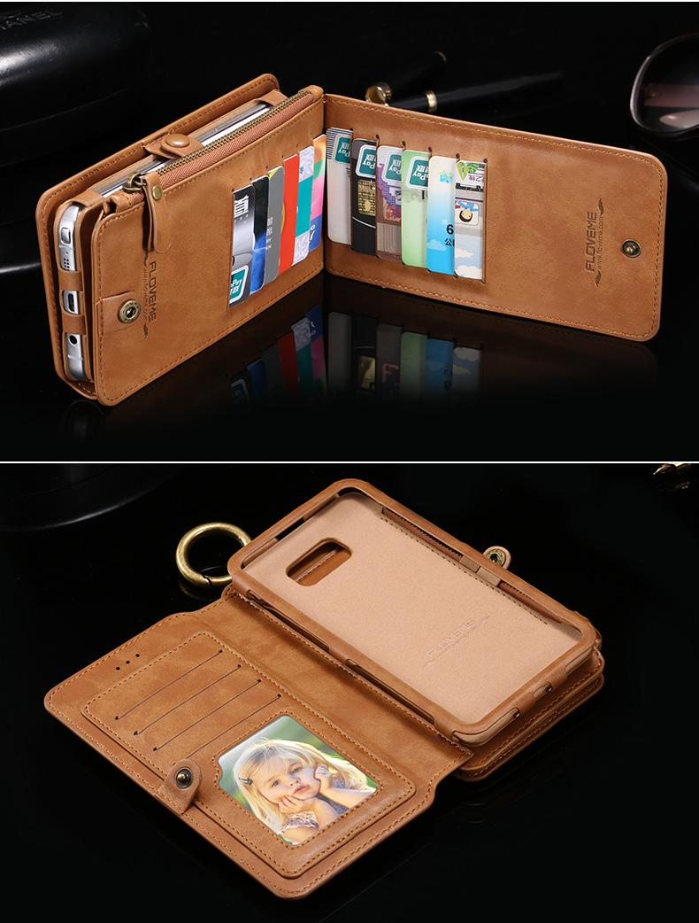ギャラクシーS7エッジ 財布のようなケース