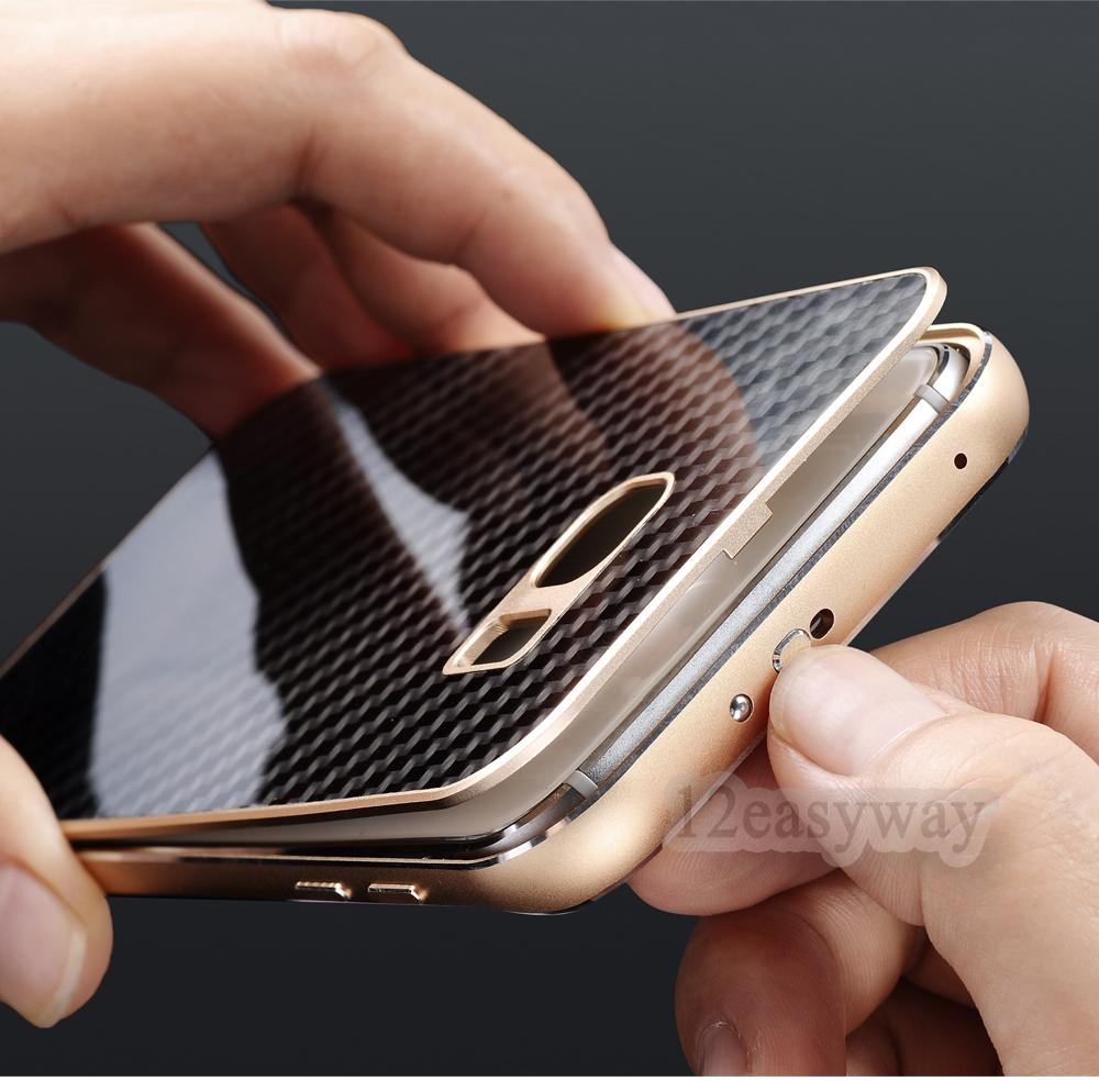 Galaxy S7 edge 背面パネル付きバンパー