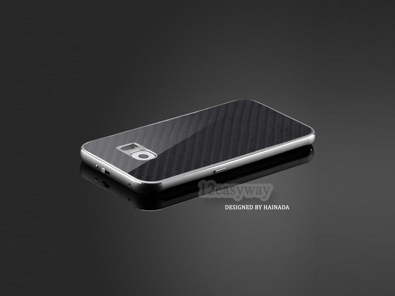 Galaxy S7 edge カーボンケース