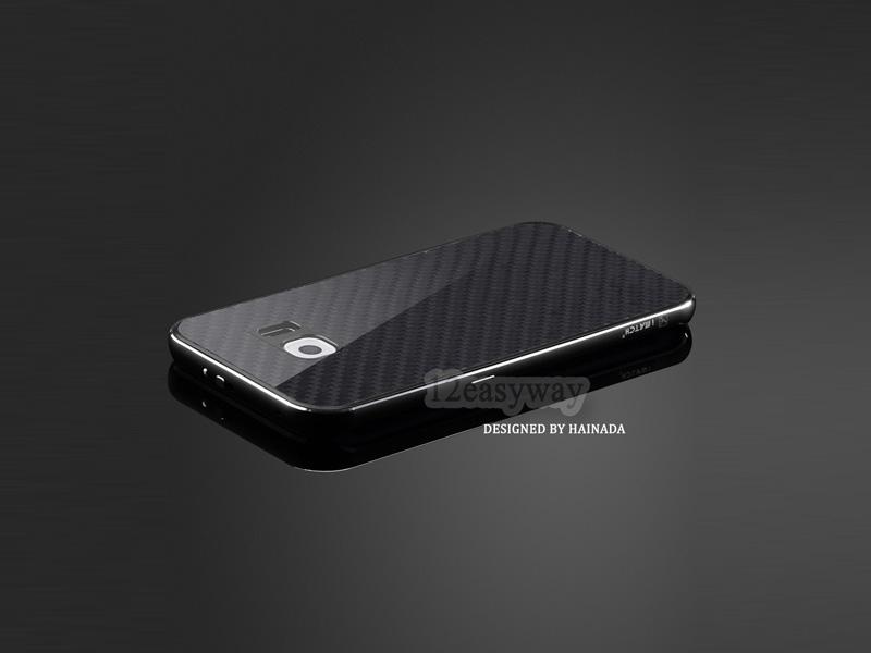 Galaxy S7 edge メタル カーボン