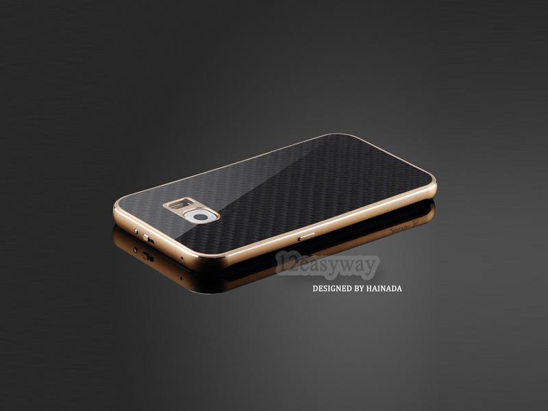 Galaxy S7 edge 背面強化ガラス