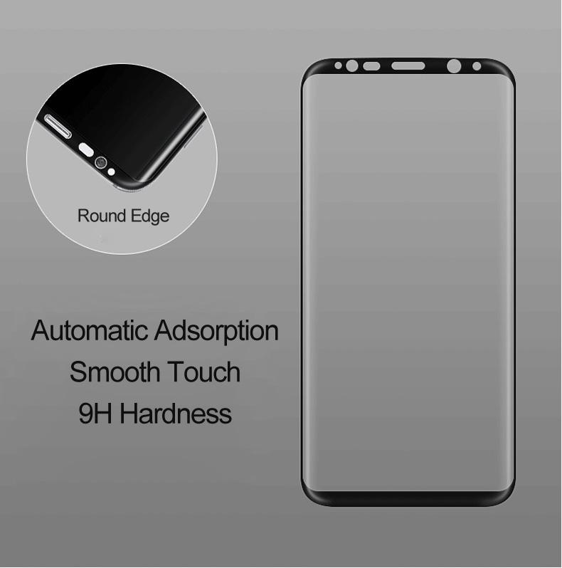 Galaxy S8+ 液晶保護ガラス