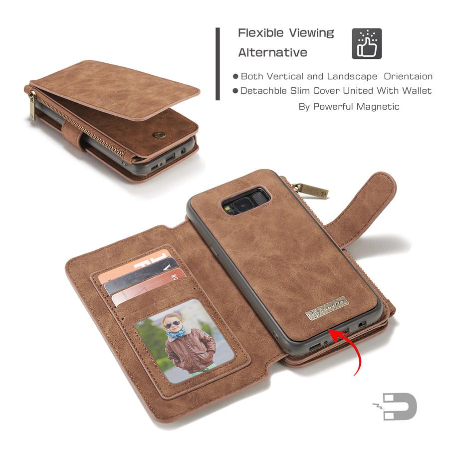 ギャラクシーS8 財布型ケース