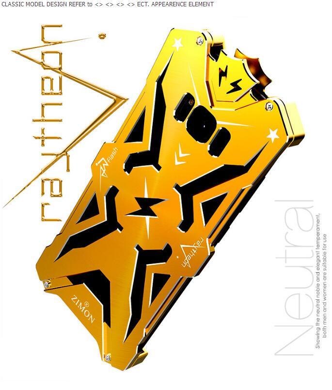 galaxy s8 アルミフルカバー