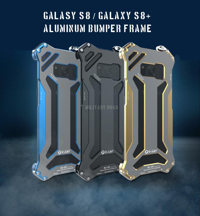 galaxy s8 アルミバンパー