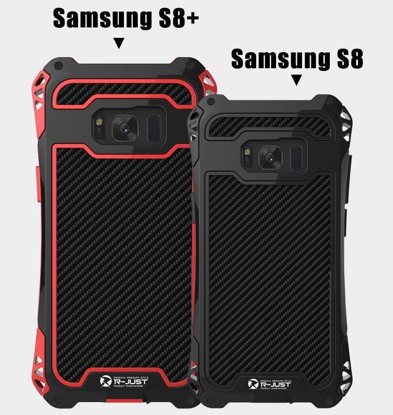 Galaxy S8 メタルとシリコン