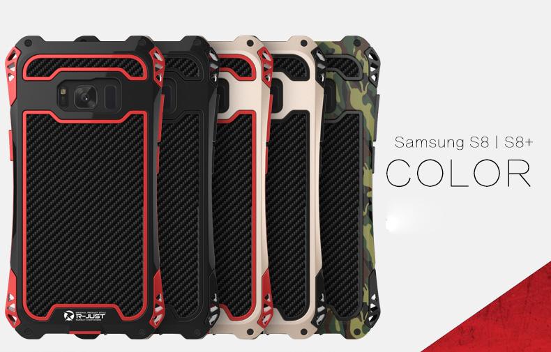 Galaxy S8 アルミとシリコン