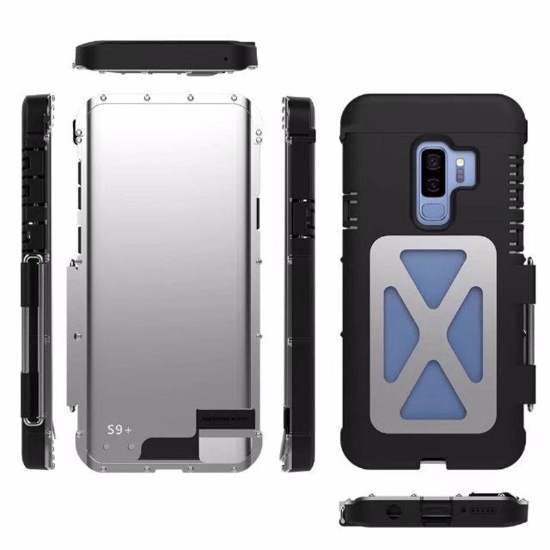 Galaxy S9 メタルケース 迷彩