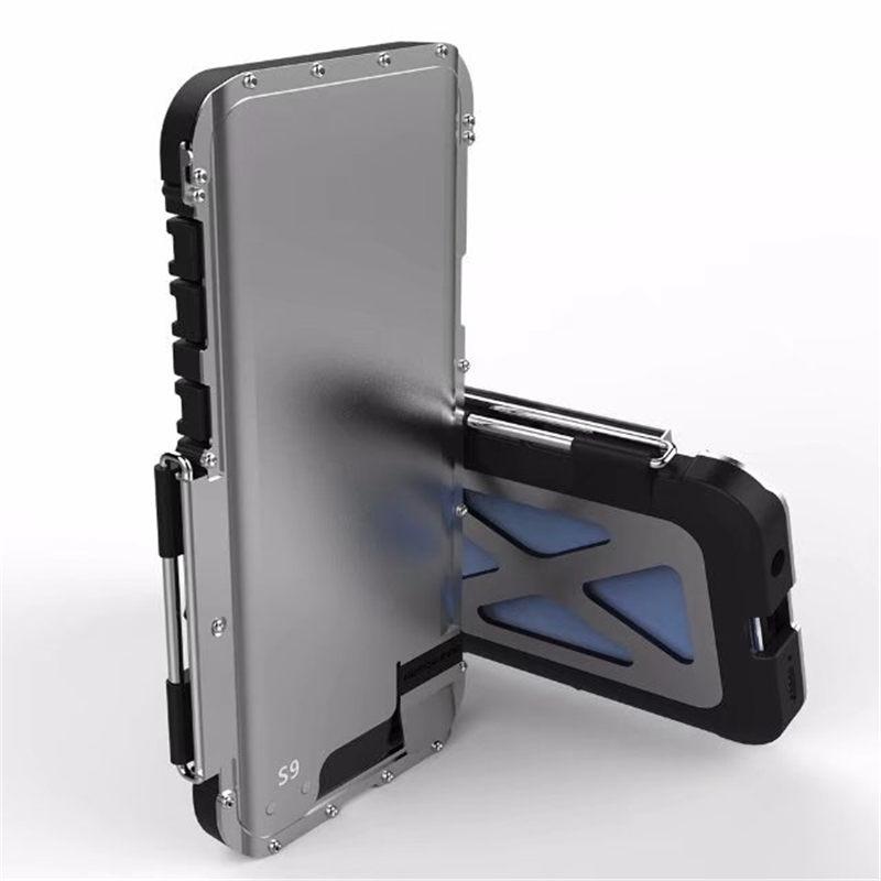 Galaxy S9 耐衝撃ケース メタルケース