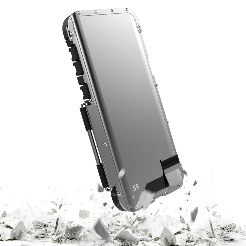 Galaxy S9 タフケース メタル