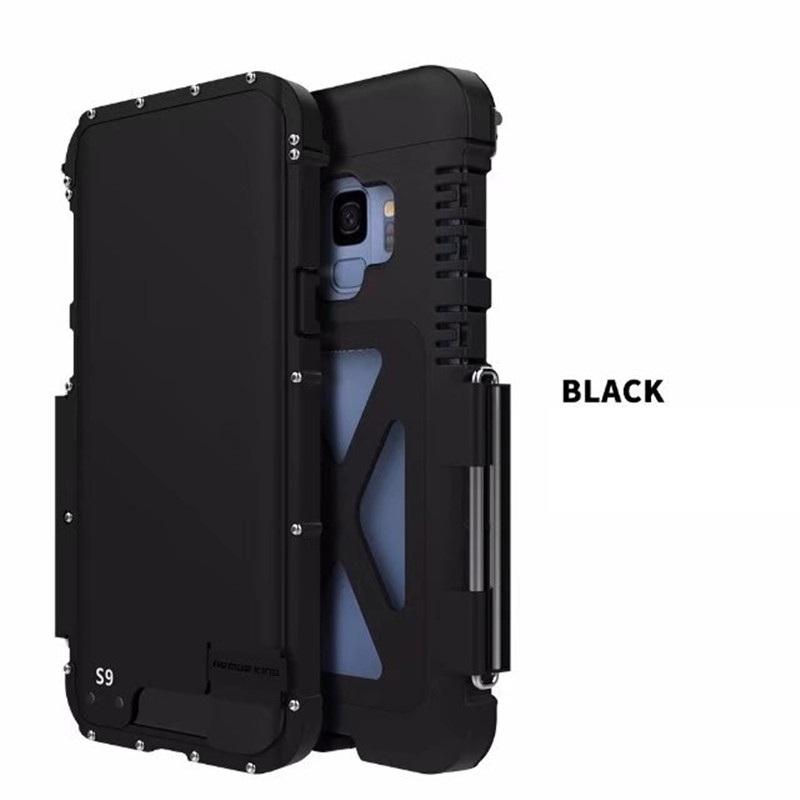 Galaxy S9 ステンレスアーマー